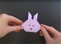 Video: How to Make an Origami Rabbit for Tsukimi