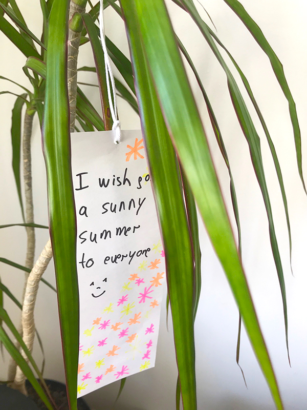 I wish for a sunny summer to everyone :-)